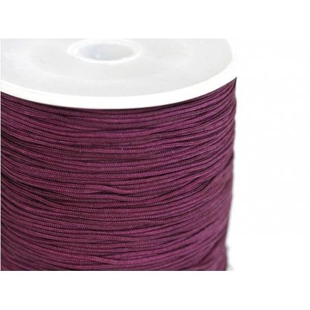 Acheter 1 m de fil de jade / fil nylon tressé 1 mm - prune - 0,49€ en ligne sur La Petite Epicerie - Loisirs créatifs