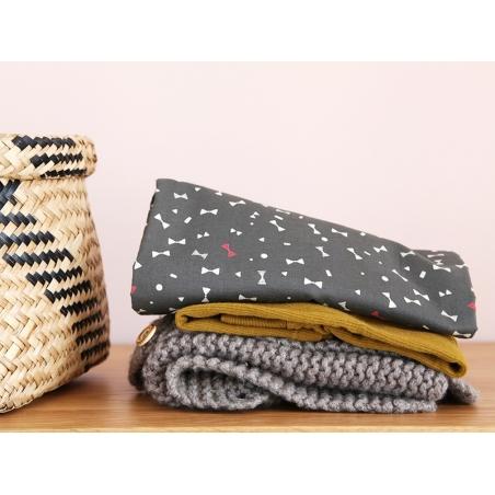 Acheter Tissu Like a Dandy - petits noeuds - Atelier Brunette - 1,89€ en ligne sur La Petite Epicerie - 100% Loisirs créatifs