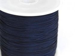 1 m geflochtene Nylonschnur (1 mm) - Nachtblau