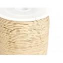 1 m de fil de jade / fil nylon tressé 1 mm - beige