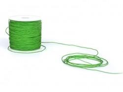 1 m de fil de jade / fil nylon tressé 1 mm - vert prairie