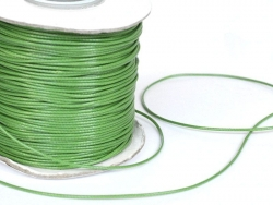 1 m de fil de coton ciré - vert