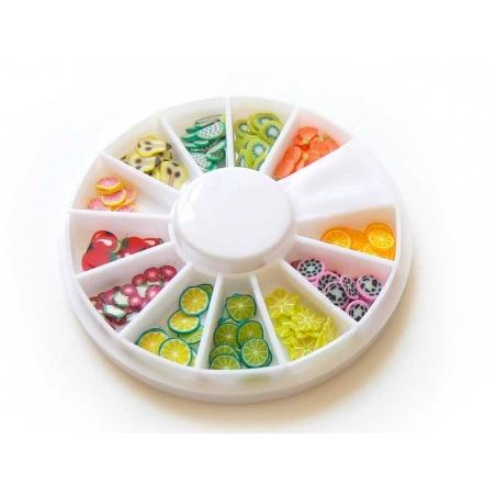Acheter Boite de 120 tranches tutti frutti - fruits - 3,99€ en ligne sur La Petite Epicerie - 100% Loisirs créatifs