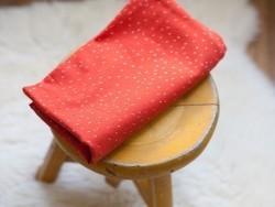 Tissu Sparkle Tangerine - Atelier Brunette