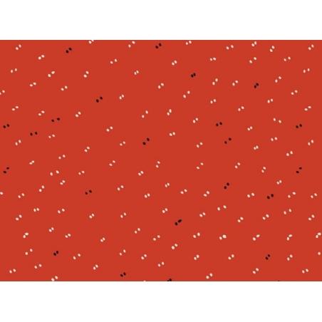 """Sparkle Tangerine"" fabric - Atelier Brunette"