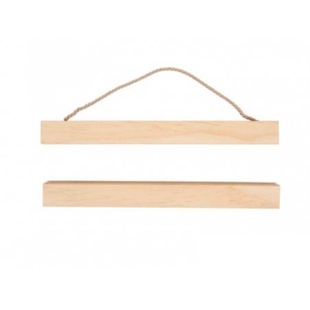 Acheter Kit de suspension en bois pour tissus - modèle moyen - 7,30€ en ligne sur La Petite Epicerie - Loisirs créatifs