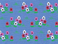 """""""Ne marchez pas sur les fleurs"""" fabric - Fifi Mandirac"""