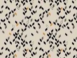 Acheter Tissu géométrique - Twist mustard  - 1,89€ en ligne sur La Petite Epicerie - 100% Loisirs créatifs