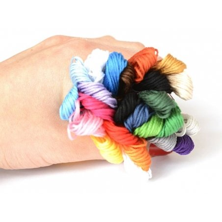 Set of 24 embroidery skeins