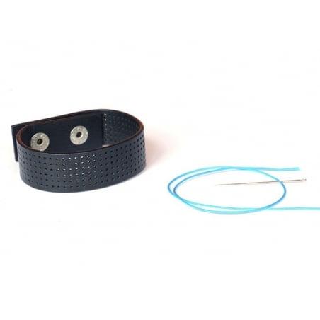 Bracelet fin à broder - Noir Rico Design - 2