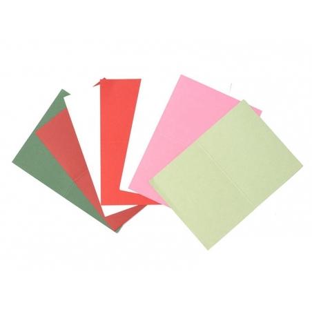 1 sheet of letter paper - dark green