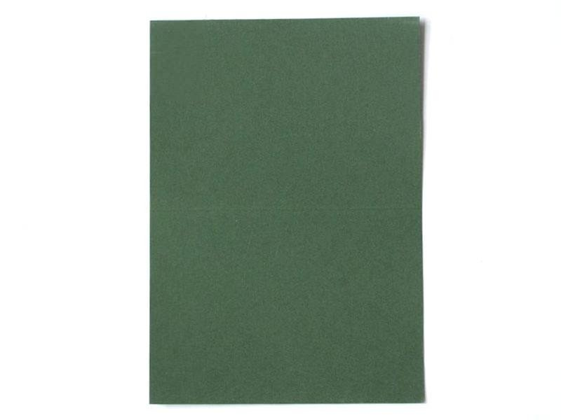 1 feuille de papier à lettre -  Vert foncé