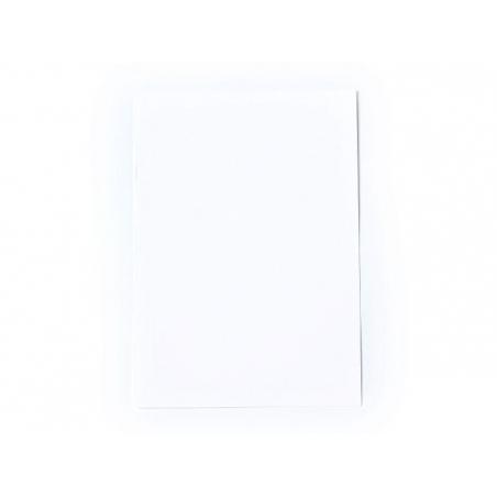 1 feuille de papier à lettre -  Blanc