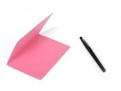 1 Bogen Briefpaper - rosa