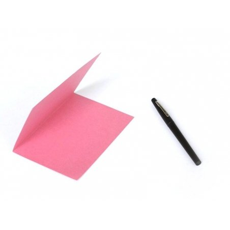 1 feuille de papier à lettre -  Rose