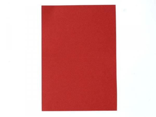 1 feuille de papier à lettre -  Rouge