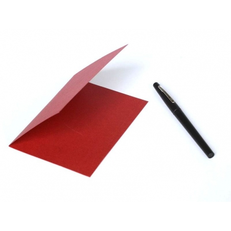 1 sheet of letter paper - red