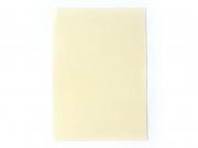 1 feuille de papier à lettre -  Crème