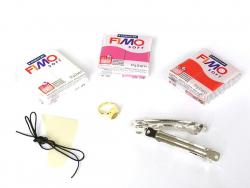 Jewellery kit incl. Fimo - Manga