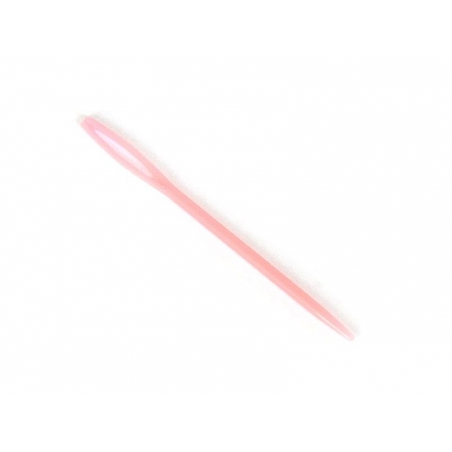 Aiguille à laine rose fluo