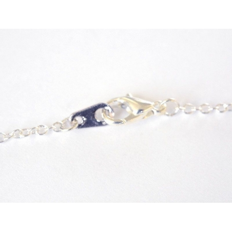 Acheter Collier fin Chouette - métal argenté - 4,99€ en ligne sur La Petite Epicerie - 100% Loisirs créatifs