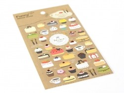Pastry stickers