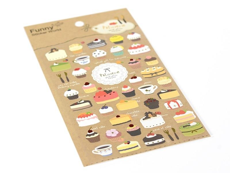 Stickers patisserie