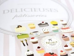 Stickers patisserie