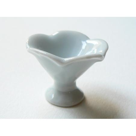 Coupe céramique fleur