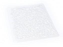 Acheter Plaque de texture Coeurs - 4,00€ en ligne sur La Petite Epicerie - 100% Loisirs créatifs