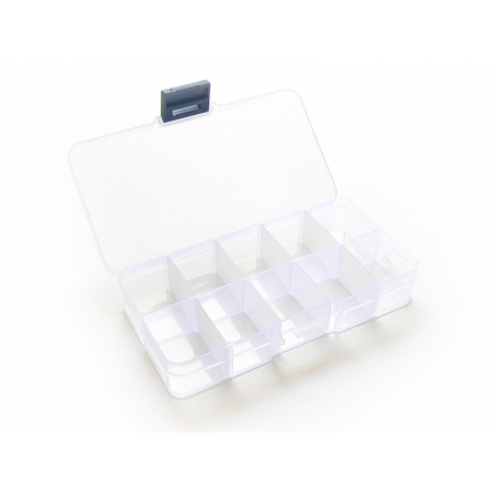 Storage box with 10 compartments