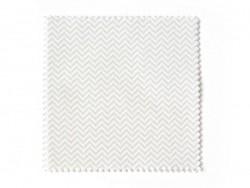 20 fabric remnants (13.5 cm x 13.5 cm) - 5 zigzag patterns