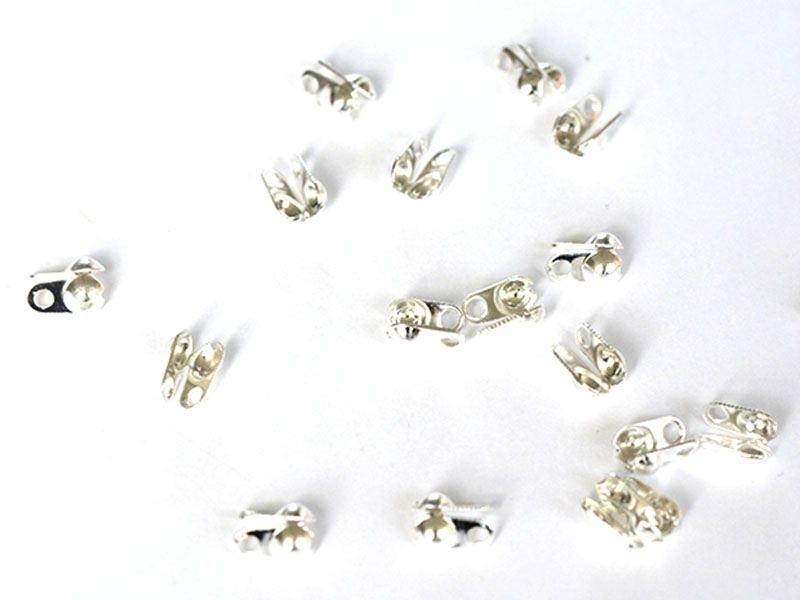 Acheter 20 cache-noeuds couleur argent clair - Taille L - 2,29€ en ligne sur La Petite Epicerie - Loisirs créatifs