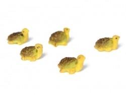 1 Tortue miniature - marron