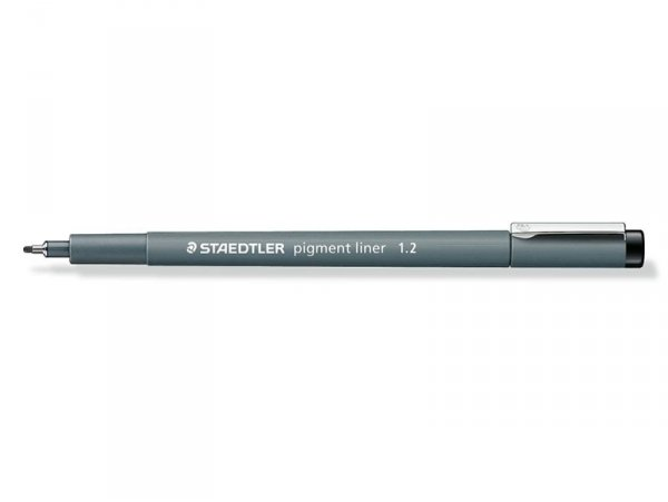 stylo d'écriture Fineliner - noir 1,2 mm