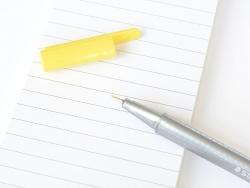 stylo d'écriture Triplus fineliner 0,3 mm - Jaune