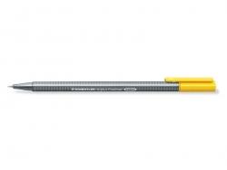 stylo biseauté 0,3 mm - Jaune