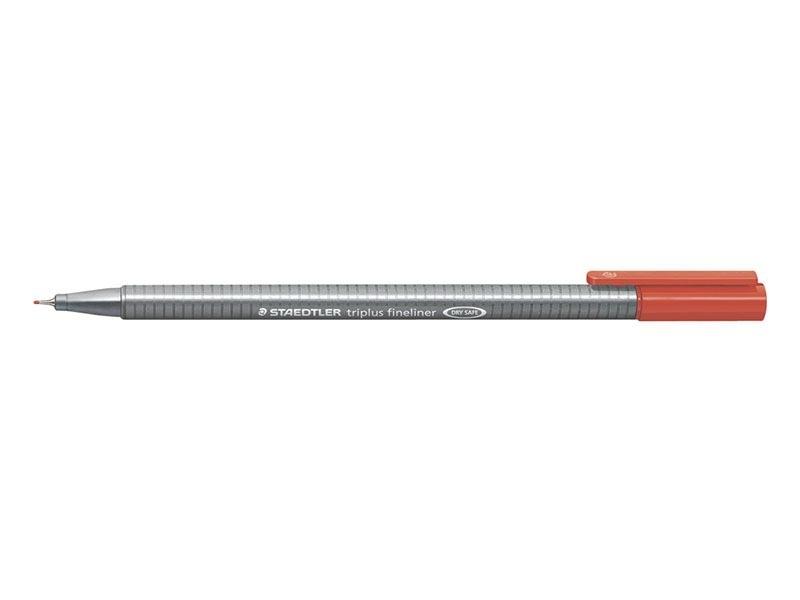stylo biseauté 0,3 mm - Rouge