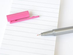 stylo biseauté 0,3 mm - Magenta