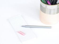 stylo biseauté 0,3 mm - Rose