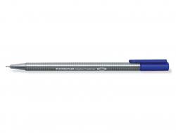 stylo biseauté 0,3 mm - bleu