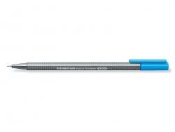 stylo biseauté 0,3 mm - Bleu ciel