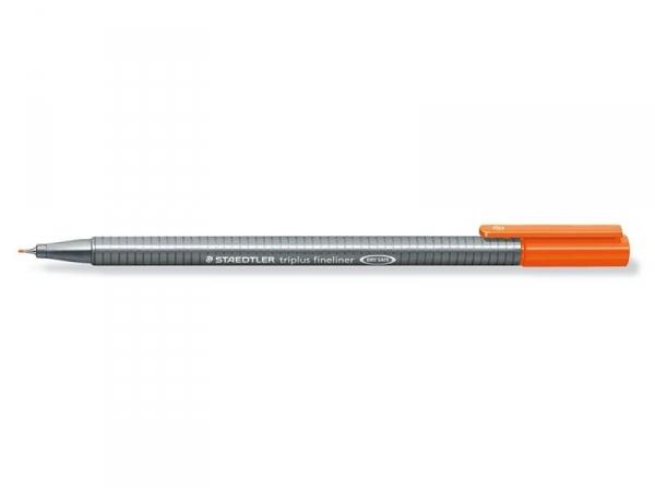 stylo d'écriture Triplus fineliner 0,3 mm - Orange