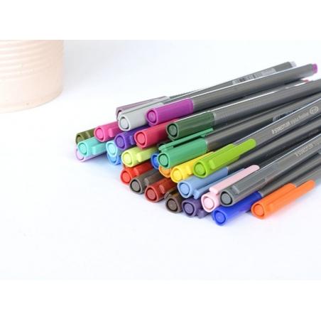 Acheter stylo d'écriture Triplus fineliner 0,3 mm - orange clair - 1,29€ en ligne sur La Petite Epicerie - 100% Loisirs créa...