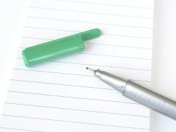 stylo biseauté 0,3 mm - Vert