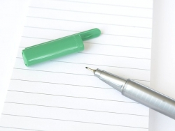 stylo biseauté 0,3 mm - Vert français