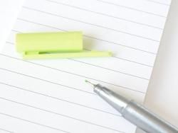 stylo biseauté 0,3 mm - Vert anis