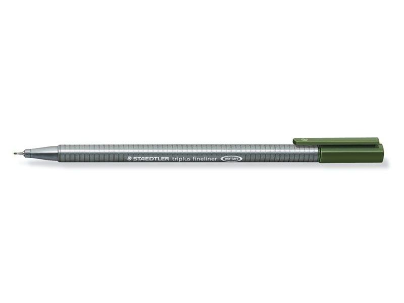 stylo d'écriture Triplus fineliner 0,3 mm - Vert sapin