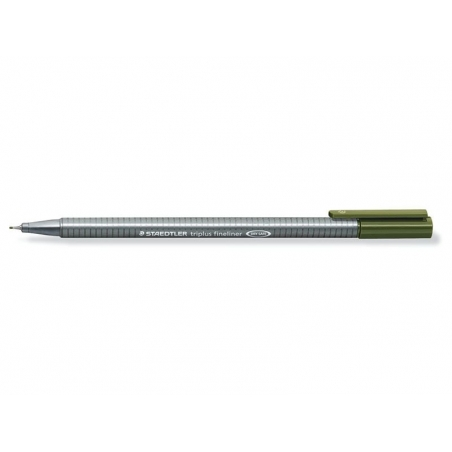 """""""Triplus"""" fineliner (0.3 mm) - olive green"""
