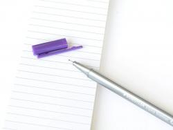stylo biseauté 0,3 mm - Violet